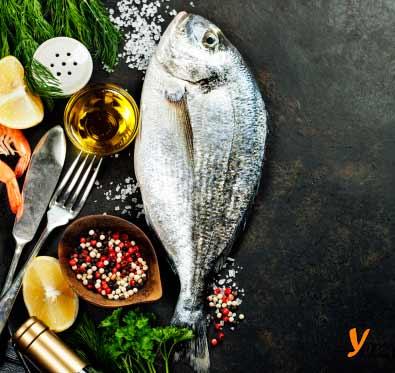 Ege Bölgesinin Yemek Kültürü içinde yer alan çupra balığı resmi.