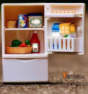 Yiyeceklerin buzdolabında saklama koşulları.