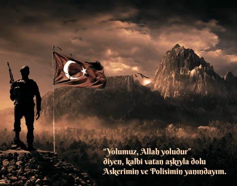Türk askeri ve polisi görselleri.