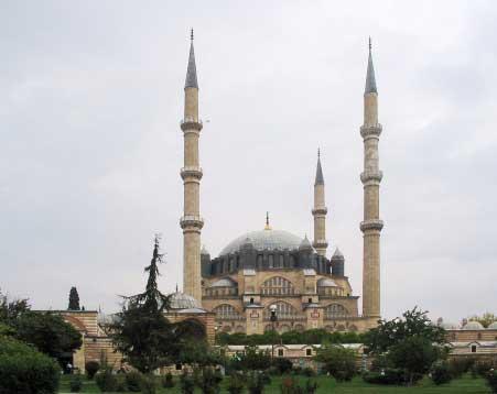 Marmara Bölgesinin Yemek Kültürü - Edirne Selimiye Cami.
