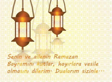 Arkadaş ve dost için yazılan Ramazan Bayramı mesajları.