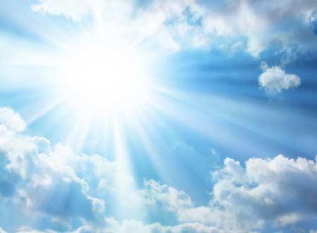 İsilik nasıl geçer? - Sıcak havalar isiliğe neden olur - Güneş görseli.