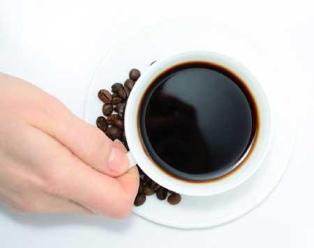 Kahveden uzak durun - Bir fincan kahve görseli.