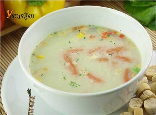 Karadeniz Bölgesi Yemek Kültürü içerisinde bulunan balık çorbası görseli.