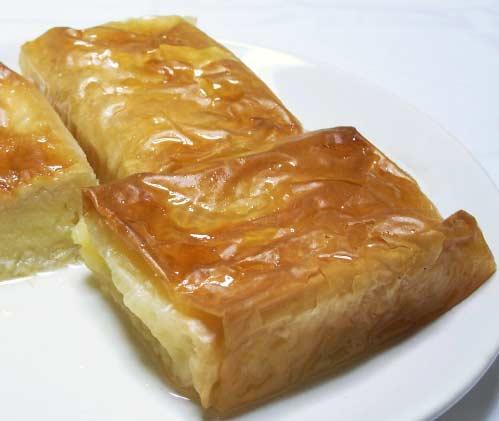 Karadeniz Bölgesi Yemek Kültürü içerisinde bulunan laz böreği görseli.