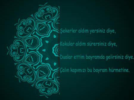 Müslümanlara gönderebileceğin şiir tadında Kurban Bayramı Mesajları - İslam dinine inananlara gönderebileceğiniz resimli bayram mesajı.