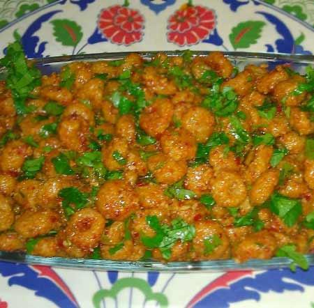 Akdeniz Bölgesi yemek kültürü - Resimde, Hatay yöresine ait nefis fellah köftesi görseli var.