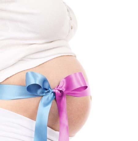 Hamilelik hesaplama yazısı için kullanılan resimde, hamile kadının karnında pembe ve mavi kurdele var. Bu kurdelelerin anlamı; bebeğin cinsiyeti erkek ya da kız olacağına dair ikilem.