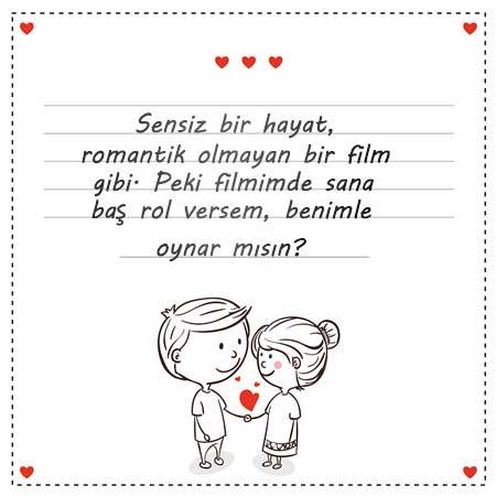 Sevgiliye Güzel Sözler - Resimde, sevgililer için komik bir aşk mesajı var.