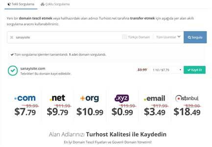 Şirketler için Web Sitesi Kurma şirketler için web sitesi nasıl olmalı yazısı için kullanılan görselde, alan adı alma işlemini gösteren bir resim var.